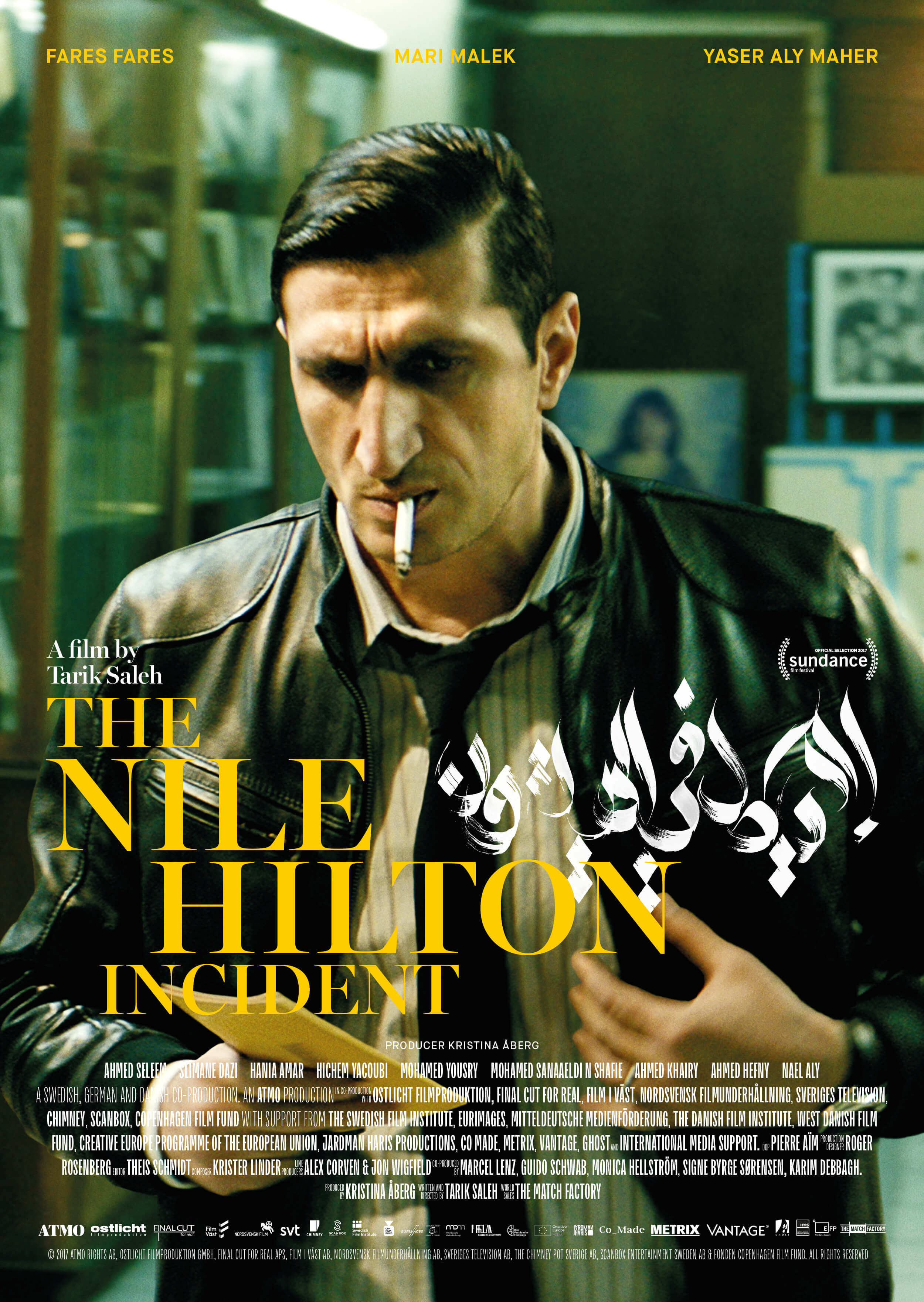 Omslag till filmen: The Nile Hilton Incident